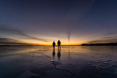 February Light on the Ice