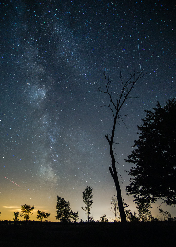 Satellites, Stars and the Darkest of Simcoe County Sky